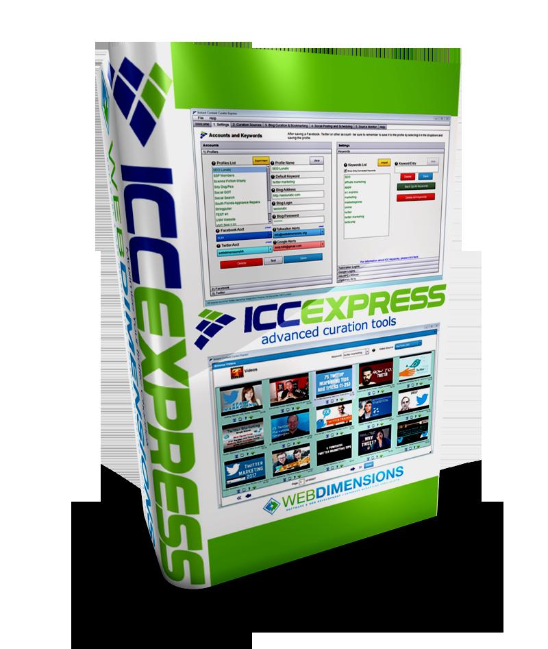 ICC Express 2.3.4 - Best Content Marketing Software - CrackSEO Exclusive Tools